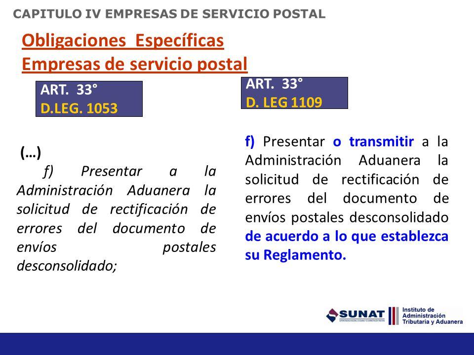 OBLIGACIONES DE LOS AGENTES DE ADUANAS D)Comunicar a la Administración Aduanera el nombramiento y la revocación del representante legal y de los auxil