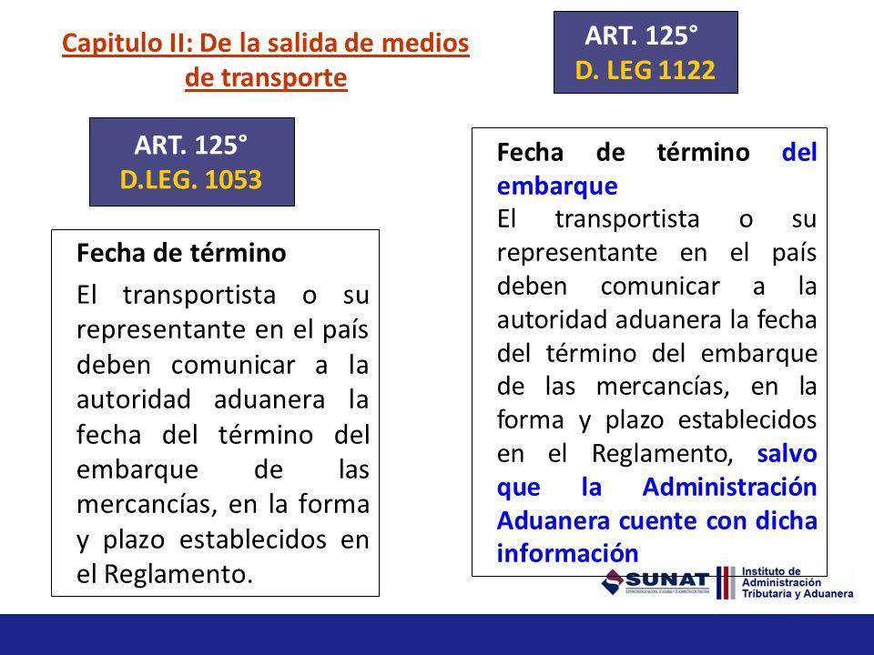 Capitulo III: De la descarga y entrega de mercancías Transmisión de la tarja Entregadas las mercancías en el punto de llegada, el transportista es res