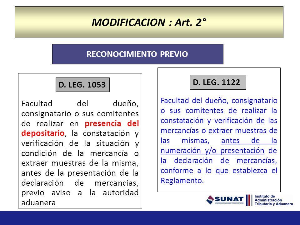 LEY GENERAL DE ADUANAS, aprobada por el Decreto Legislativo Nº 1053 (publicado el 03.02.2008) Ley 29884: Delegación de facultades de legislar en mater