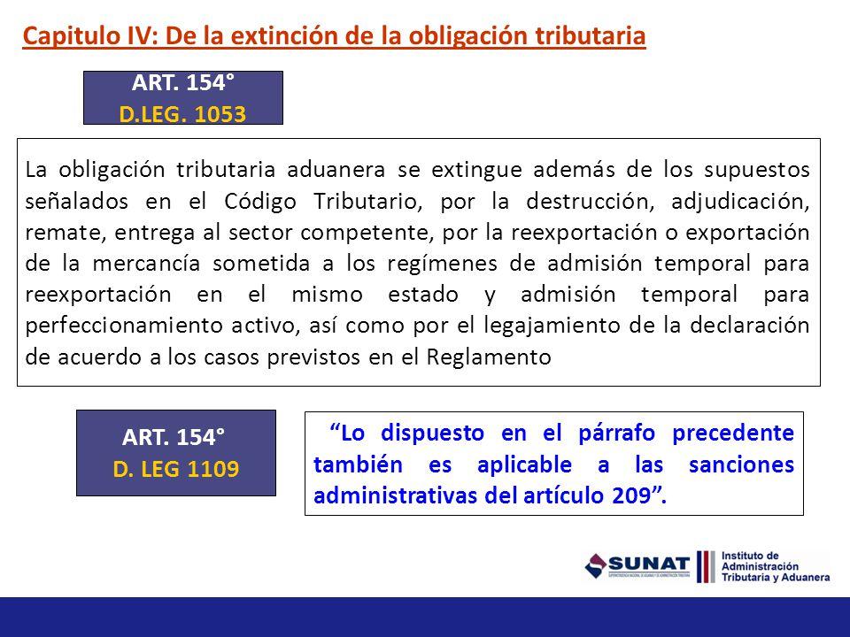 Capitulo II: De la determinación de la obligación tributaria Inafectaciones Están inafectas del pago de los derechos arancelarios, de acuerdo con los