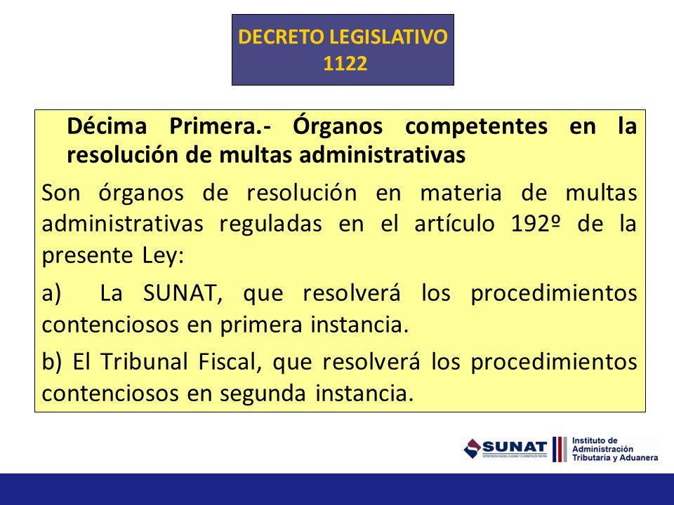 Décima.- La SUNAT debe remitir al Ministerio de Economía y Finanzas dentro de los primeros quince (15) días calendario de cada semestre, un informe de
