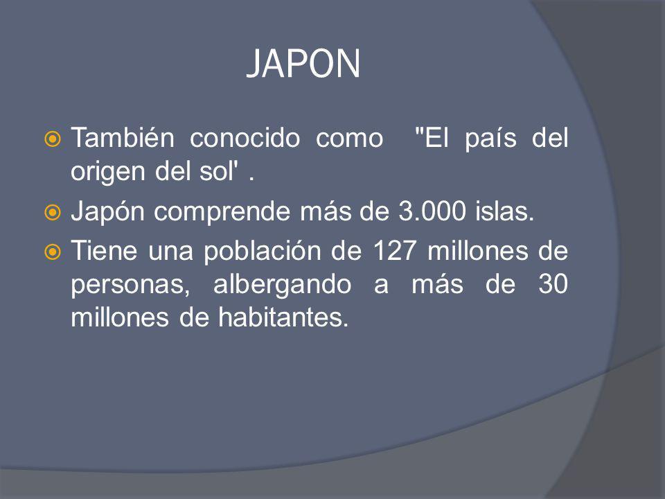 JAPON También conocido como