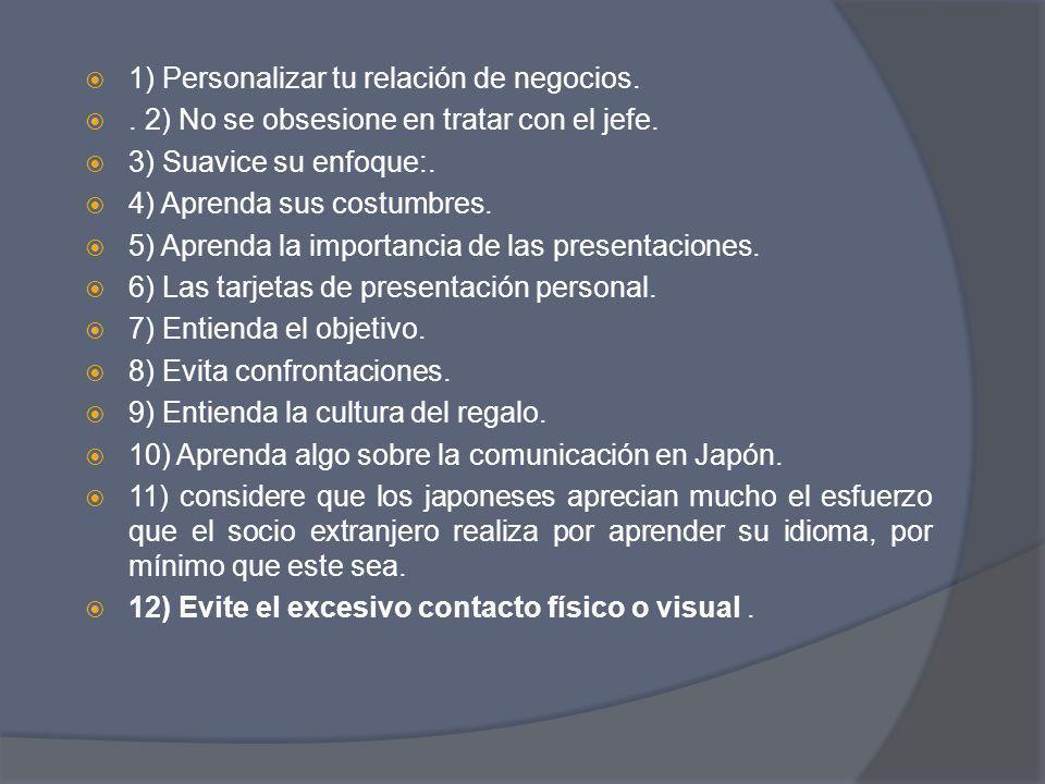 En caso de Colombia…..