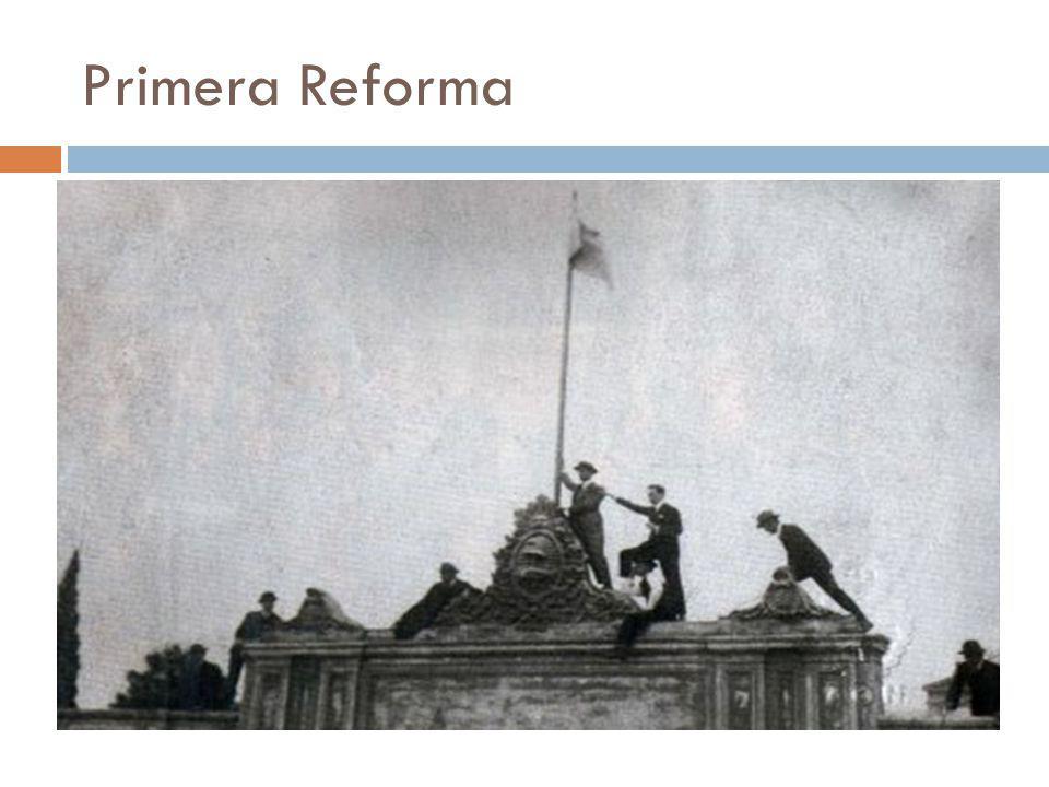 Segunda Reforma