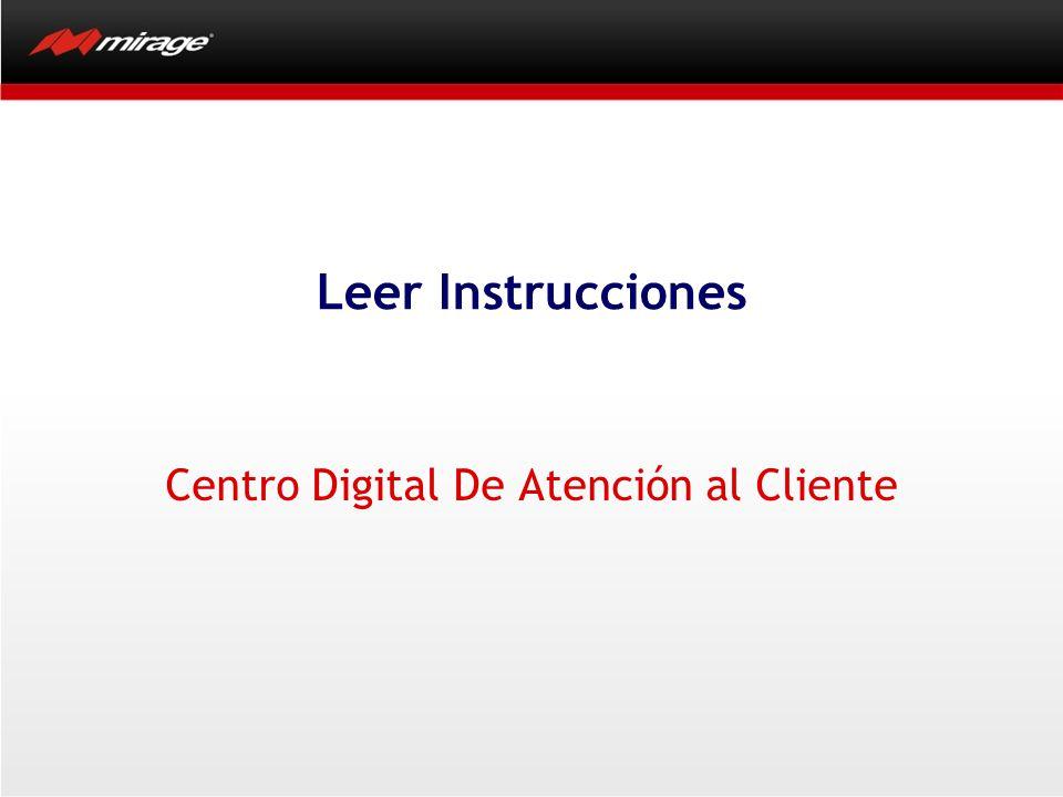 Centro Digital De Atención Al Cliente Tiene opciones de ayuda para encontrar el no.