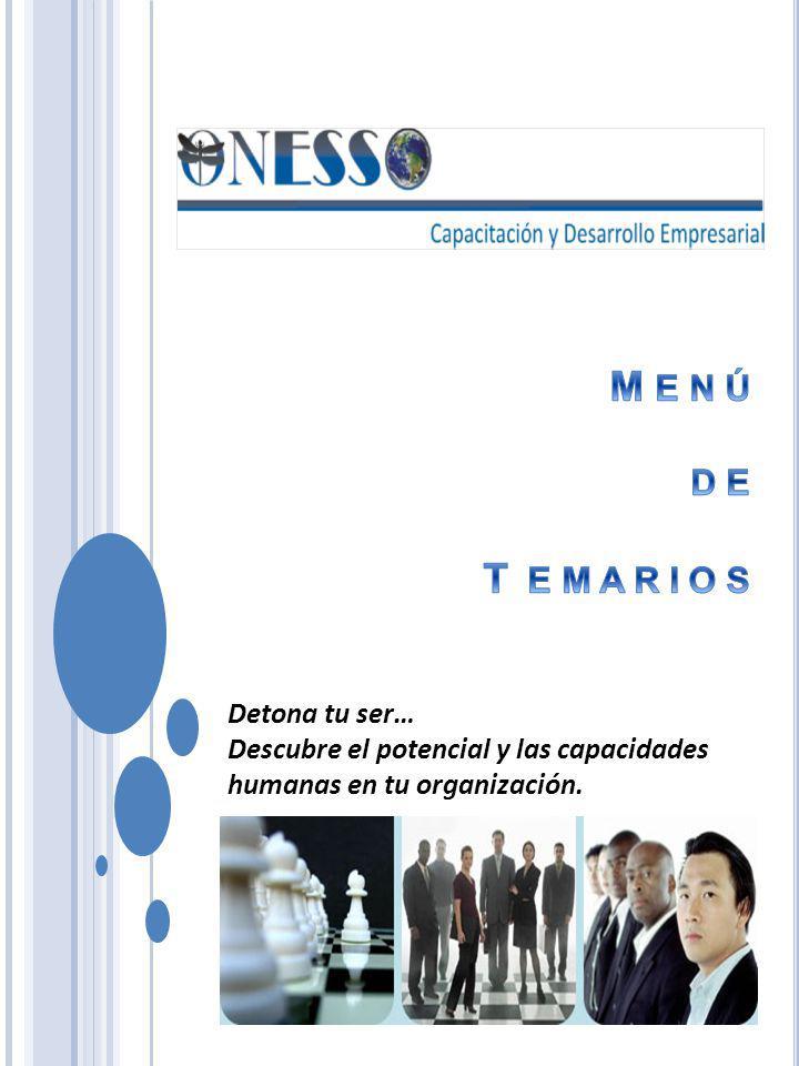 SISTEMAS DE APLICACIÓN PROGRAMAS C ONFERENCIAS MASIVAS S ESIONES A GRUPOS CERRADOS T ALLERES PRÁCTICOS CON DINÁMICAS S EMINARIOS Ó P ROGRAMAS I MPORTANTE : L OS PROGRAMAS DE CAPACITACIÓN SON DISEÑADOS DE ACUERDO A SUS NECESIDADES Y PRESUPUESTO.