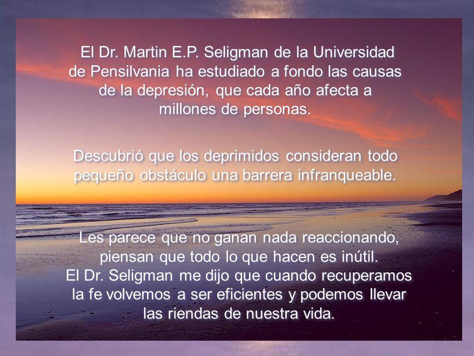 El Dr.Martin E.P.
