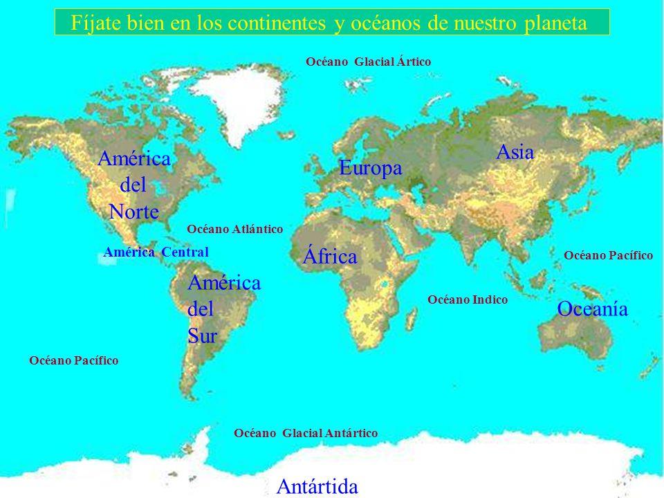 CONTINENTES Y OCÉANOS C.E.I.P. ANTONIO CUEVAS
