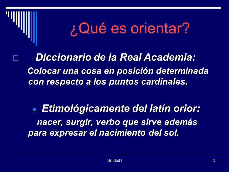 """La presentaci�n """"Unidad I1 Orientar La Orientaci�n Educativa y la ..."""