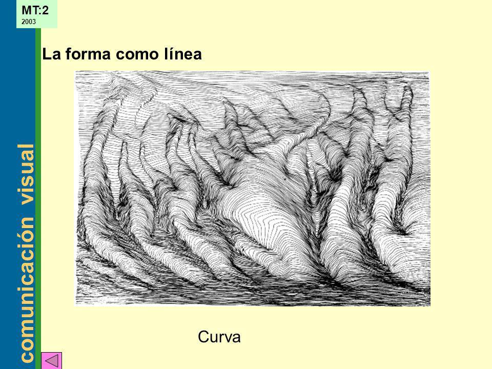 comunicación visual MT:2 2003 La forma como línea Curva