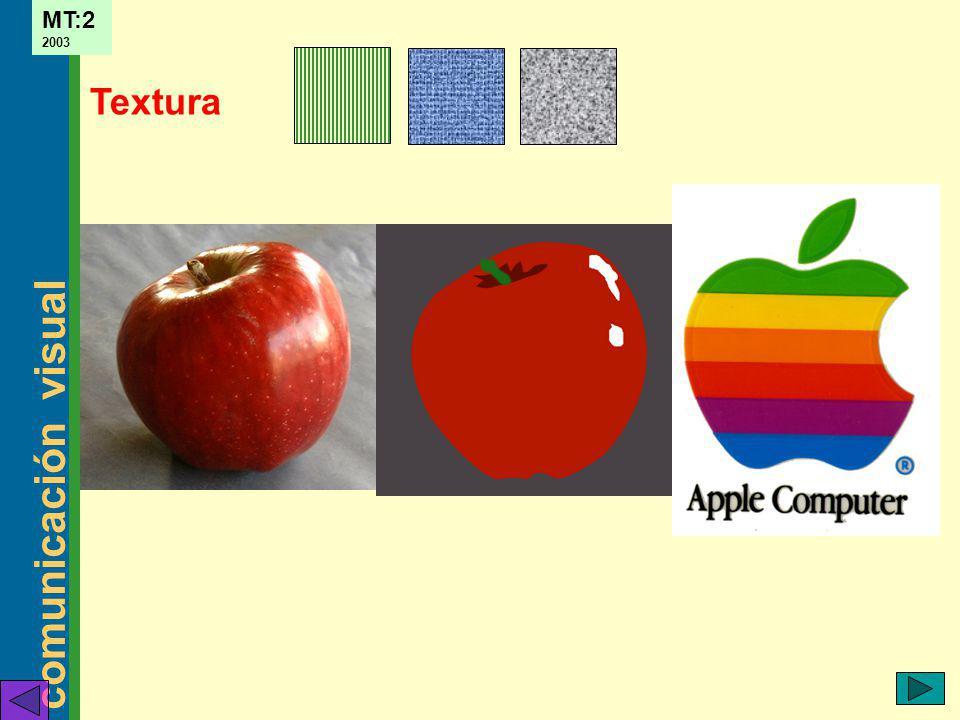 comunicación visual MT:2 2003 Textura