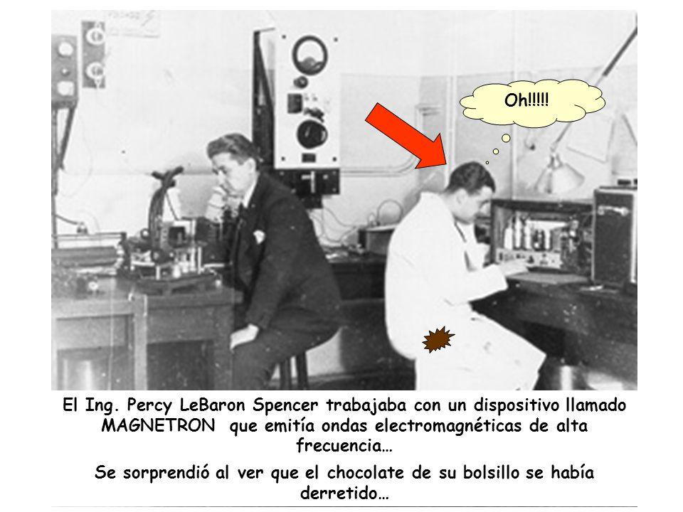 En un país… un laboratorio de Raytheon Corp… en 1945…