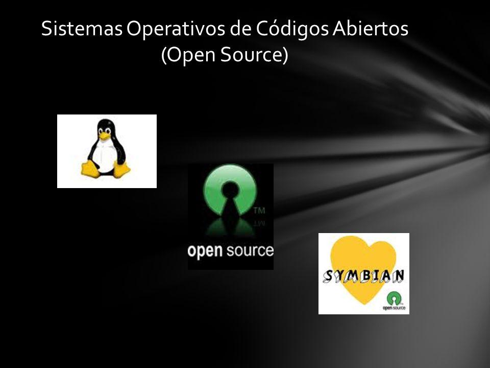 Sistemas Operativos de Códigos Abiertos (Open Source)