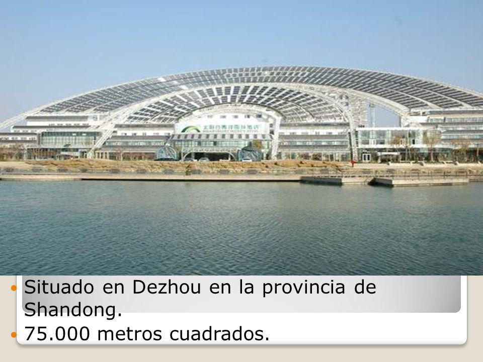Situado en Dezhou en la provincia de Shandong. 75.000 metros cuadrados.