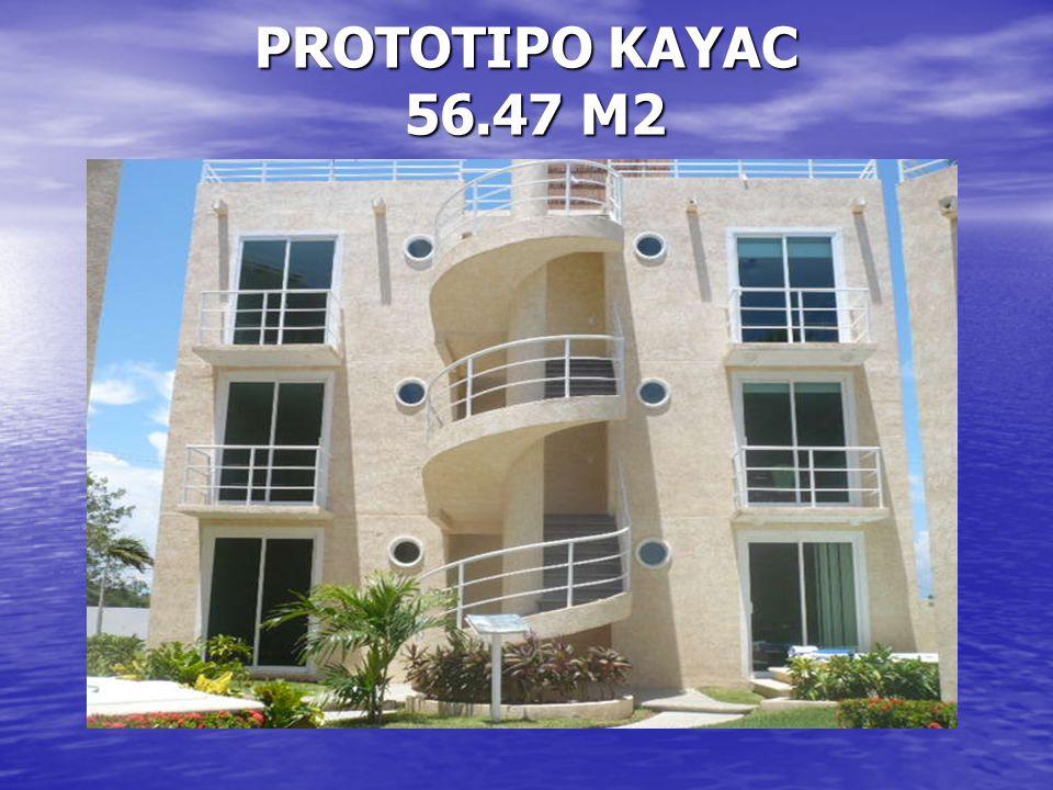 PROTOTIPO KAYAC 56.47 M2