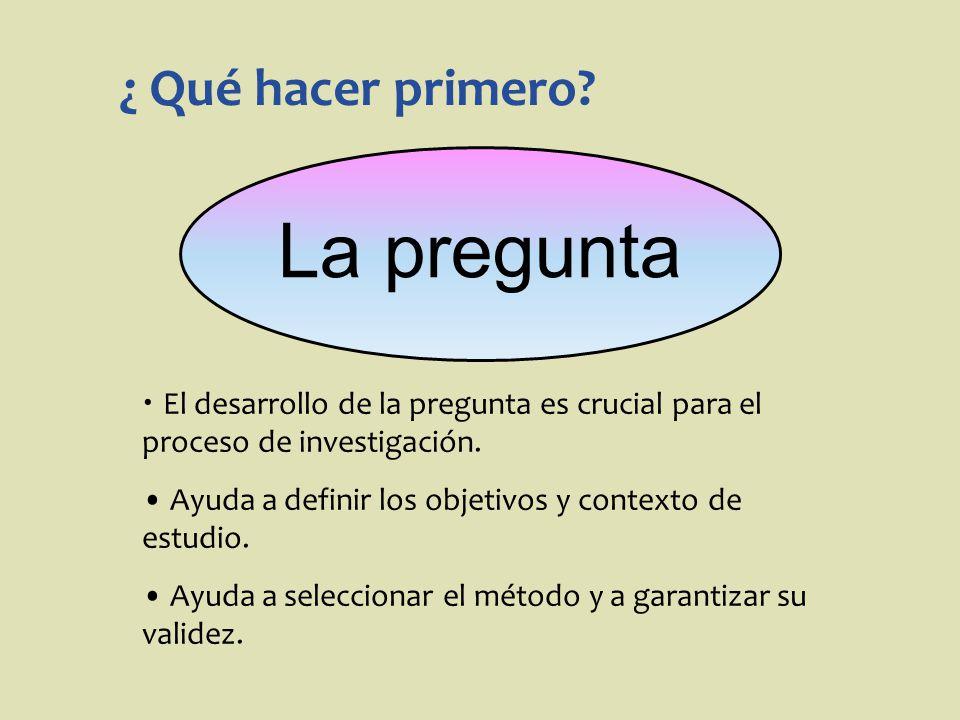 Preguntas n Indican qué se desea saber n Indican la dirección de la investigación n Objetivos de la investigación
