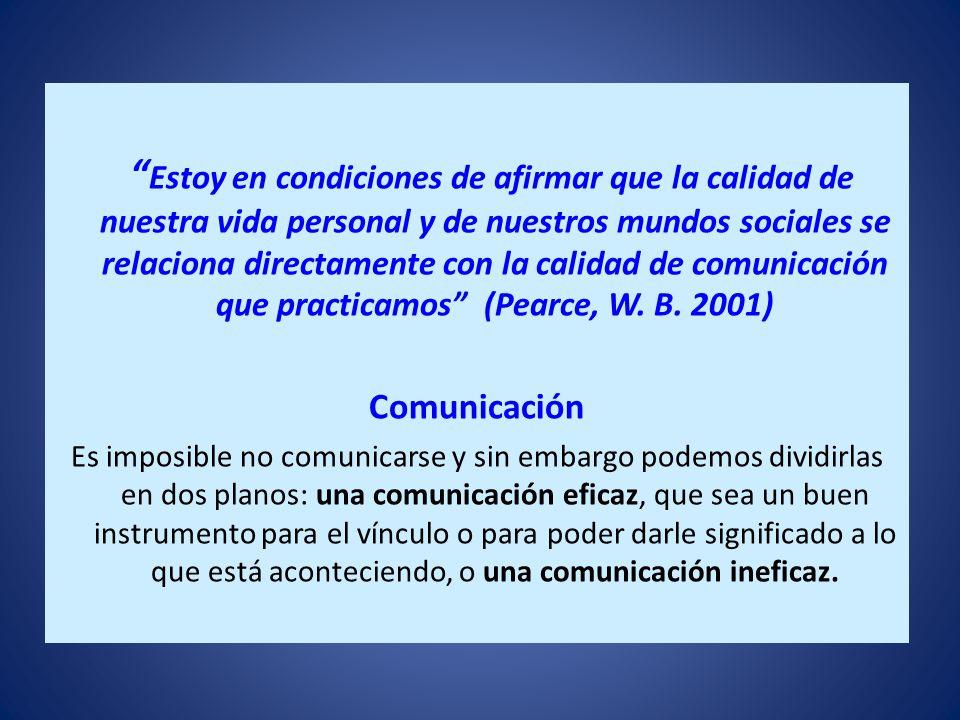 Lenguaje, comunicación y conversación. El Lenguaje estructura realidades y al mismo tiempo malentendido y conflicto. La palabra Comunicación proviene