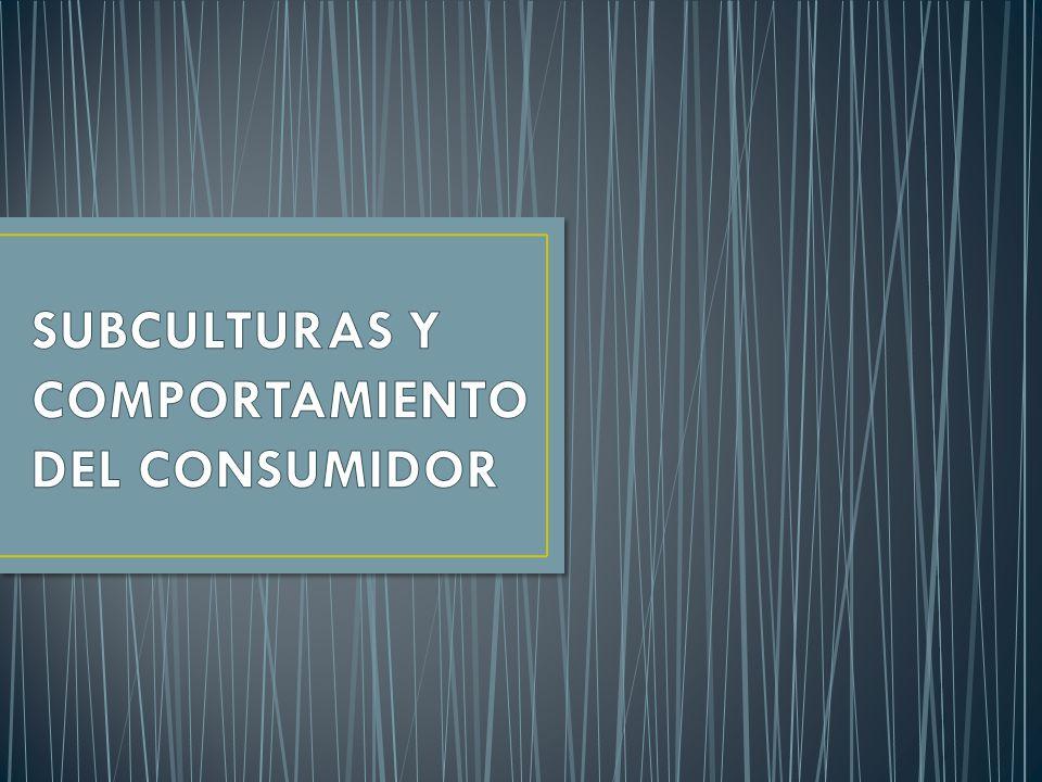 Los miembros de una subcultura específica tienen creencias, valores y costumbres que los distinguen de otros miembros de la misma sociedad.