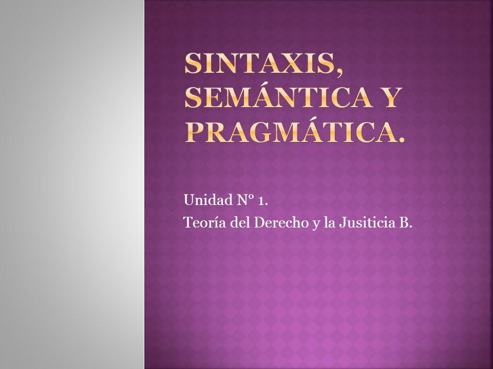 Unidad N° 1. Teoría del Derecho y la Jusiticia B.