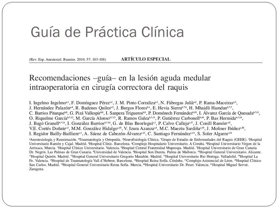 Guía de Práctica Clínica
