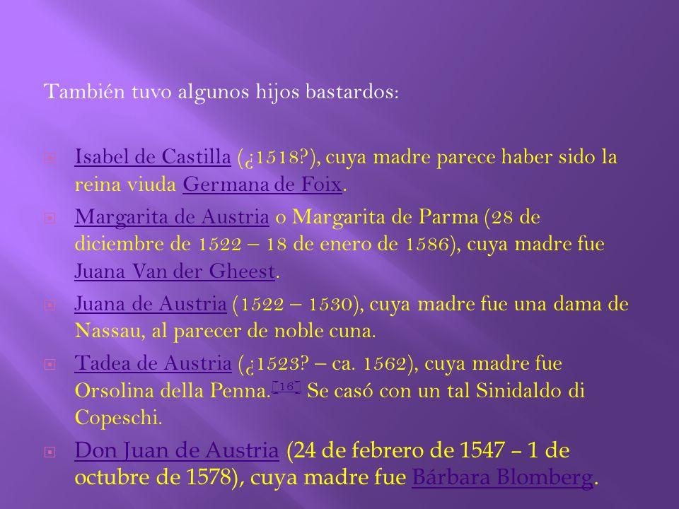 Carlos embarcó en Flandes con destino a la península ibérica, llegando a las playas de Asturias en septiembre de 1517.