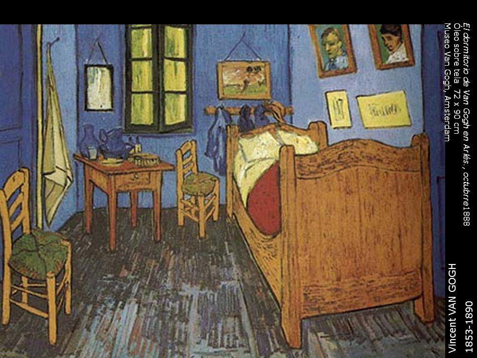 Vincent VAN GOGH 1853-1890 El dormitorio de Van Gogh en Arlés., octubrre1888 Óleo sobre tela 72 x 90 cm Museo Van Gogh, Amsterdam