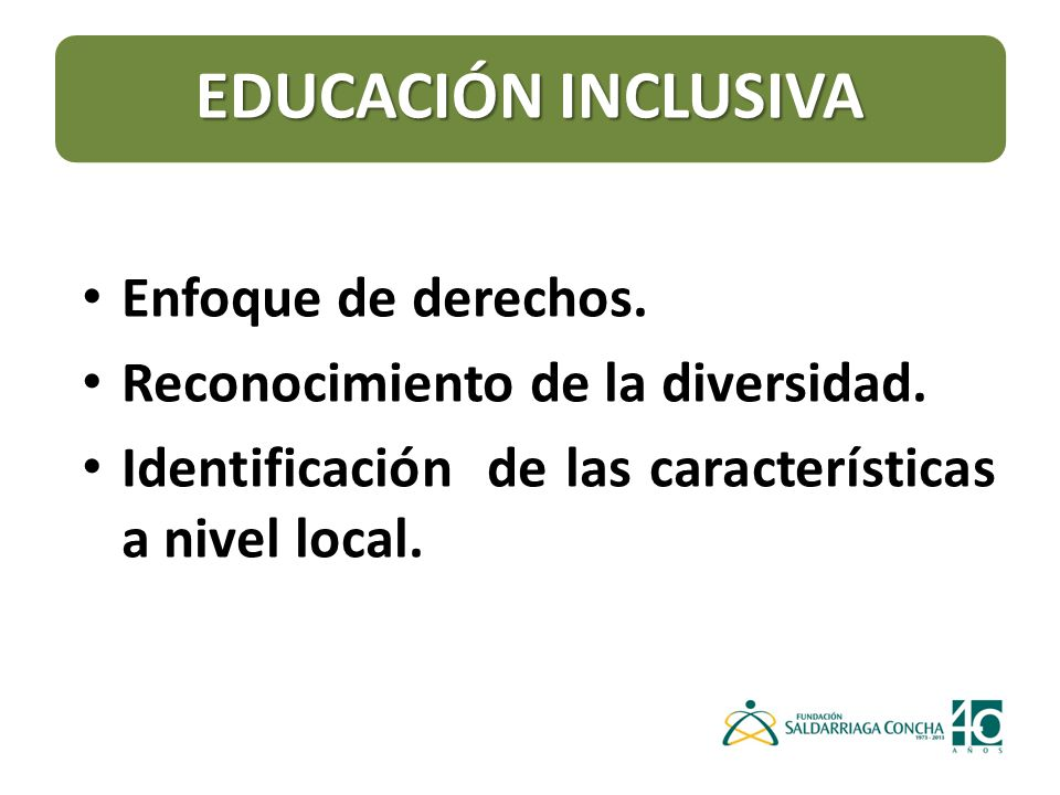 CONVENCIÓN DE LOS DERECHOS DE LAS PERSONAS CON DISCAPACIDAD ARTICULO 24 EDUCACIÓN ARTICULO 24 EDUCACIÓN Los Estados Partes asegurarán un sistema de educación inclusivo a todos los niveles así como la enseñanza a lo largo de la vida.