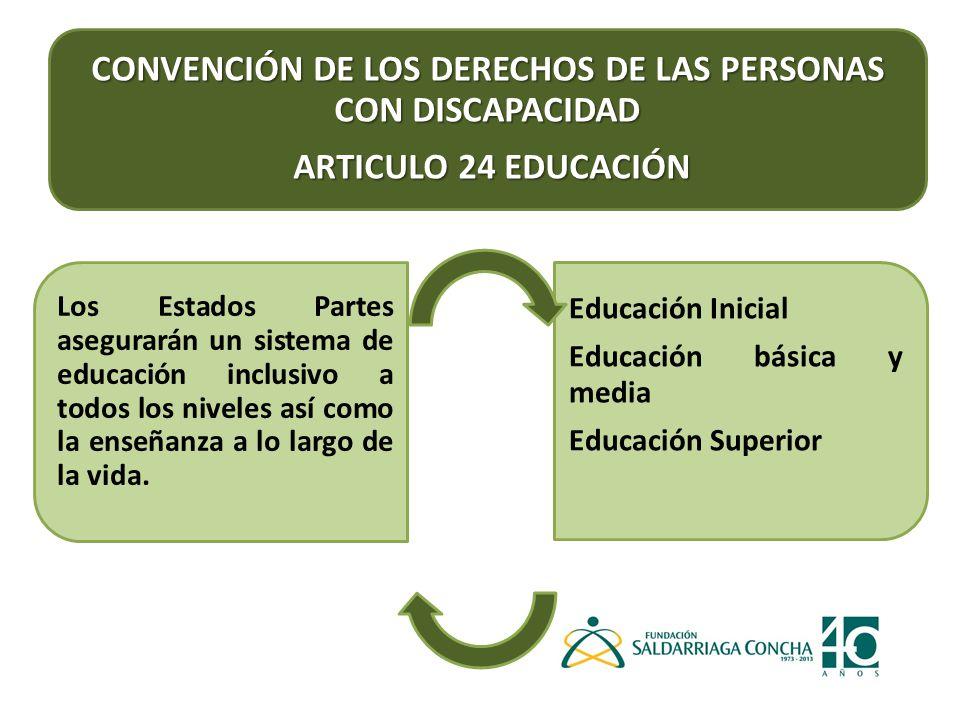 INCLUSIÓN EN EDUCACIÓN BÁSICA Y MEDIA: 1.