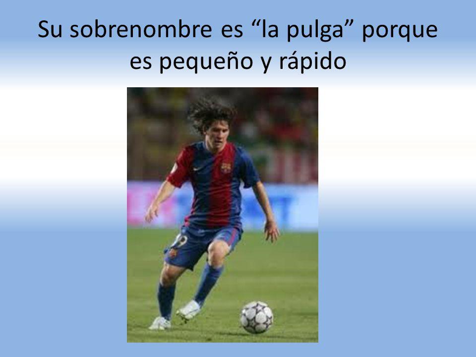 A los trece años, En septiembre de 2000, Leo realiza una prueba en el F.C. Barcelona; el técnico Carles Rexach queda maravillado con su talento futbol