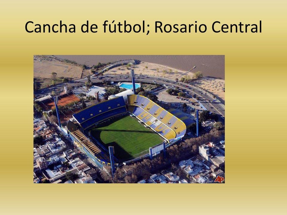 Cancha de fútbol; Rosario Central