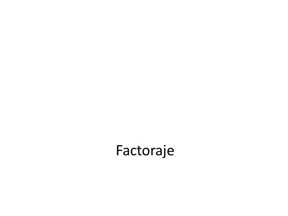 Factoraje