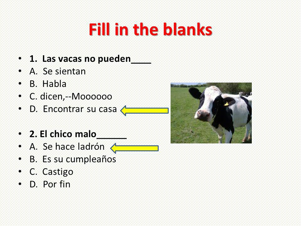Verb Phrases Tener que + inf– I have to study Spanish.