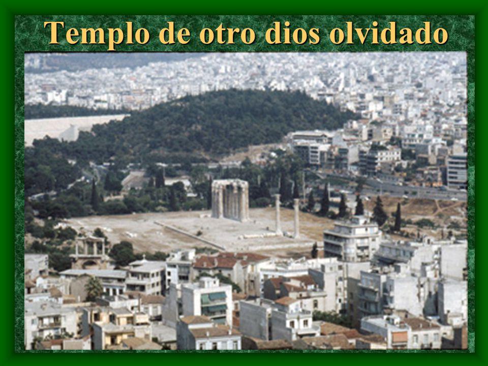 Este tempo dedicado a Atenas, diosa protectora, se construyó en 600 aC.
