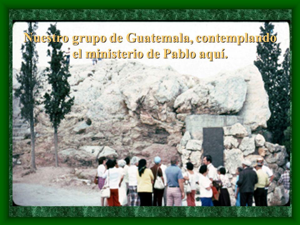 donde Pablo predicó, en Hechos 17