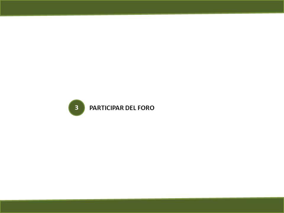 PARTICIPAR DEL FORO 3