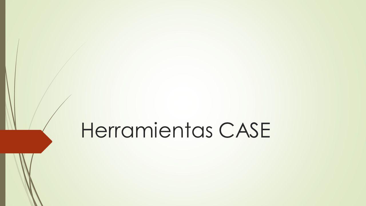 Herramientas CASE