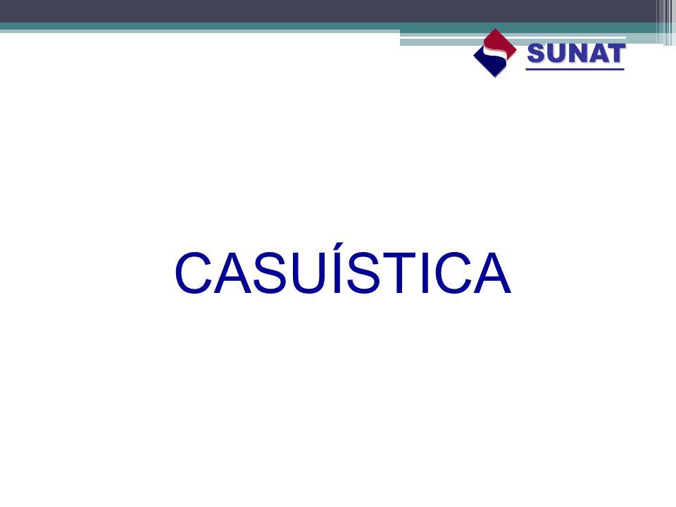 CASUÍSTICA SUNAT