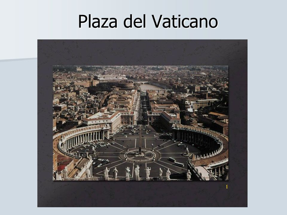ROMA Tras el concilio de Trento los papas realizaron numerosas obras en Roma con el objetivo de resaltar su papel de cabeza del catolicismo.