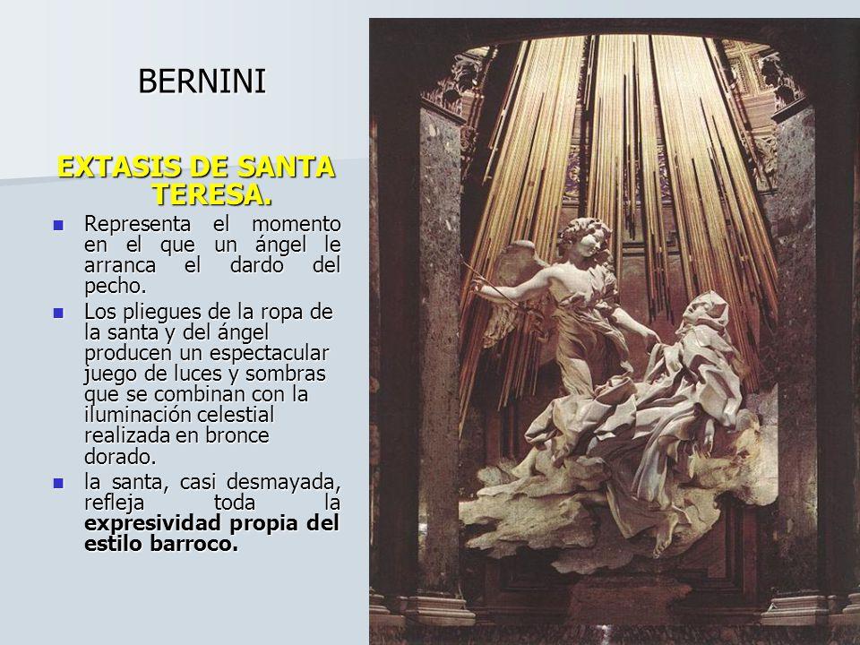 Bernini, el escultor barroco Fue el principal escultor del Barroco y uno de los más relevantes de todos los tiempos.
