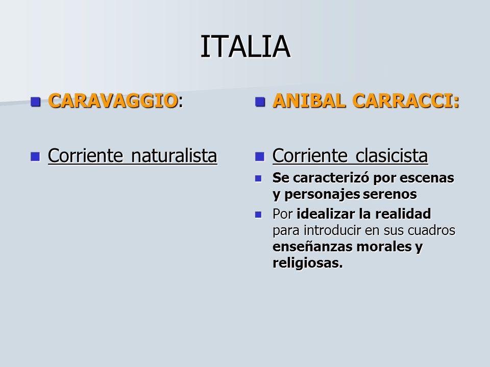 ESCUELAS EUROPEAS ESCUELAS Y PINTORES ESCUELA ITALIANA: CARAVAGGIO CARRACCI ESCUELA HOLANDESA: REMBRANDT FRANS HALAS VERMEER ESCUELA FLAMENCA.