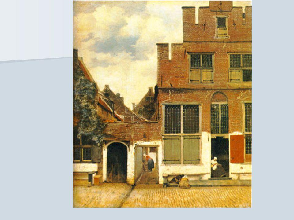 Vermeer Se especializó en interiores de hogares burgueses donde reflejaba la cómoda y agradable vida de este grupo.