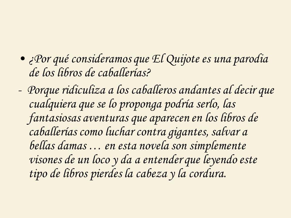 · ¿Qué dos visiones obtenemos de Dulcinea?¿Por qué se contraponen la visión realista de Sancho y la idealista de don Quijote.