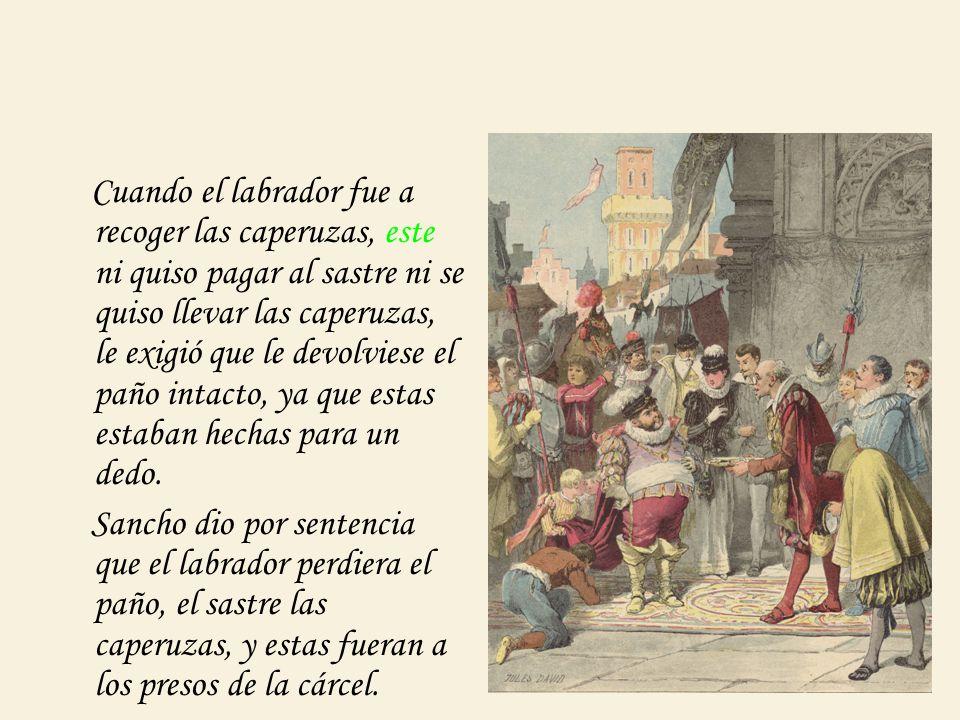 ¿Te parece buen recurso que se vayan alternando los sucesos qué acontecen a don Quijote y a Sancho.