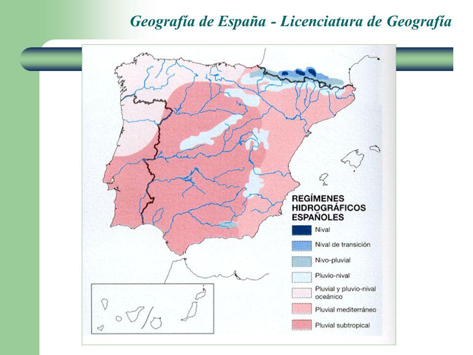 Geografía de España - Licenciatura de Geografía