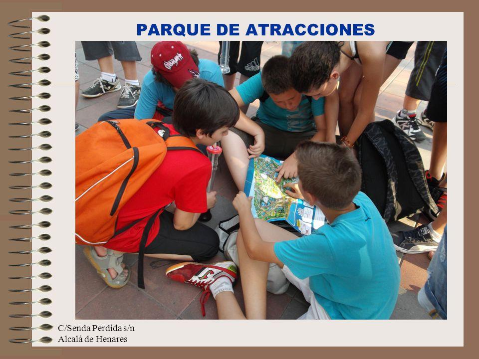 C/Senda Perdida s/n Alcalá de Henares PARQUE DE ATRACCIONES
