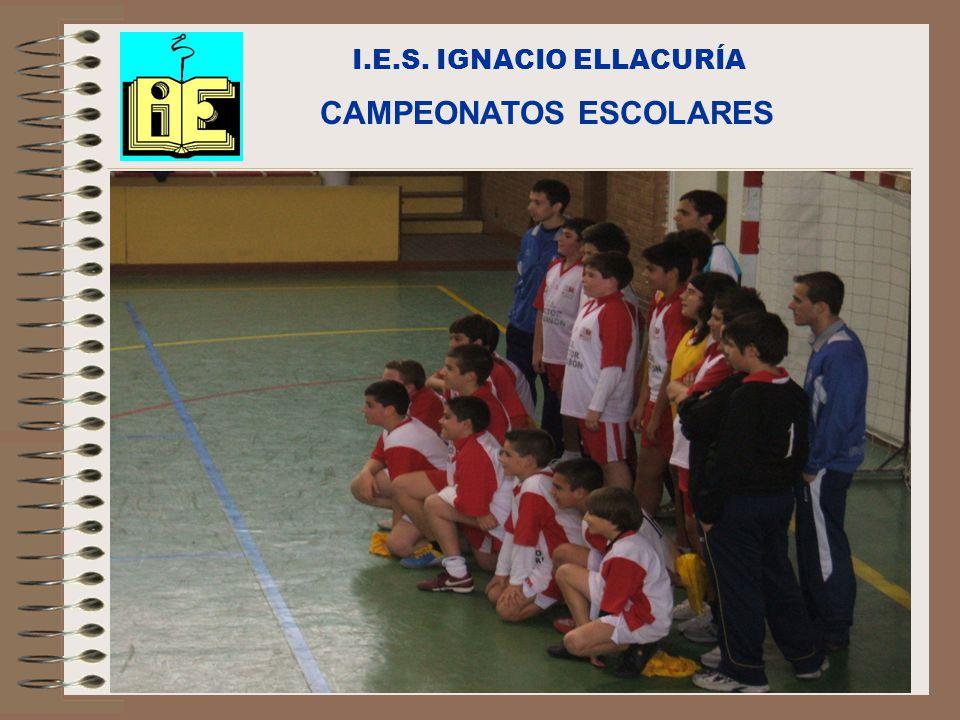 C/Senda perdida s/n Alcalá de Henares I.E.S. IGNACIO ELLACURÍA CAMPEONATOS ESCOLARES