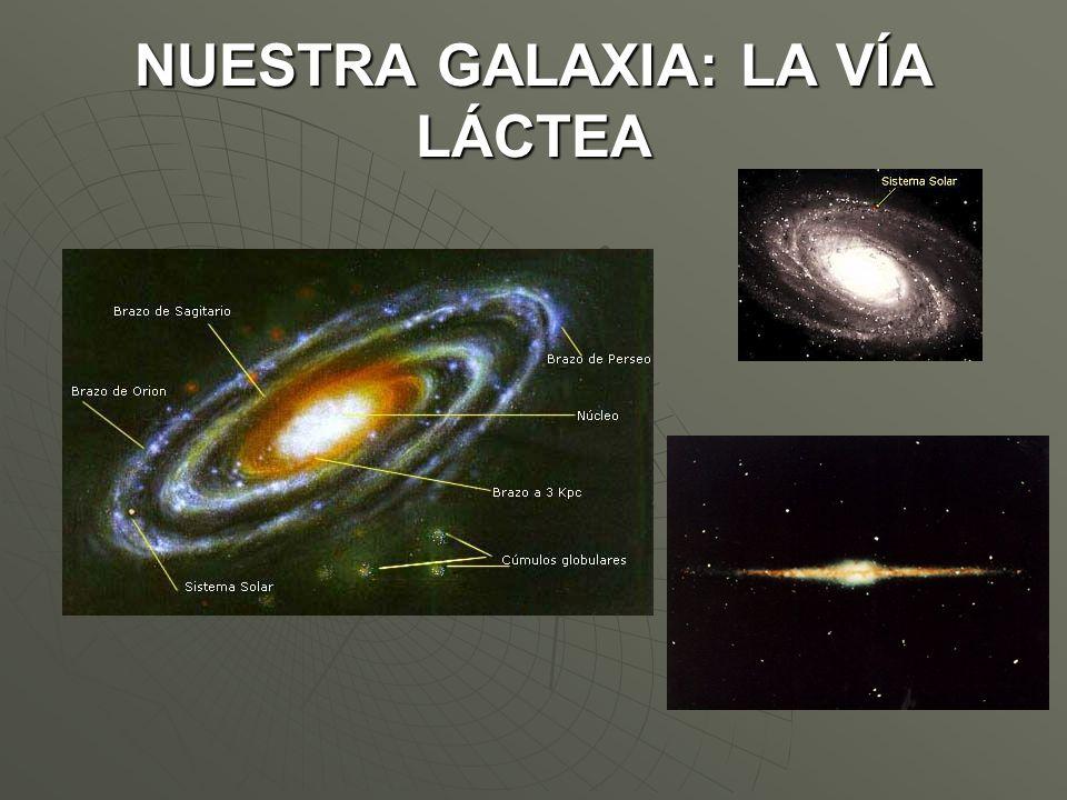 Estructura: Estructura: Núcleo central, donde se encuentran las estrellas más antígüas.Núcleo central, donde se encuentran las estrellas más antígüas.