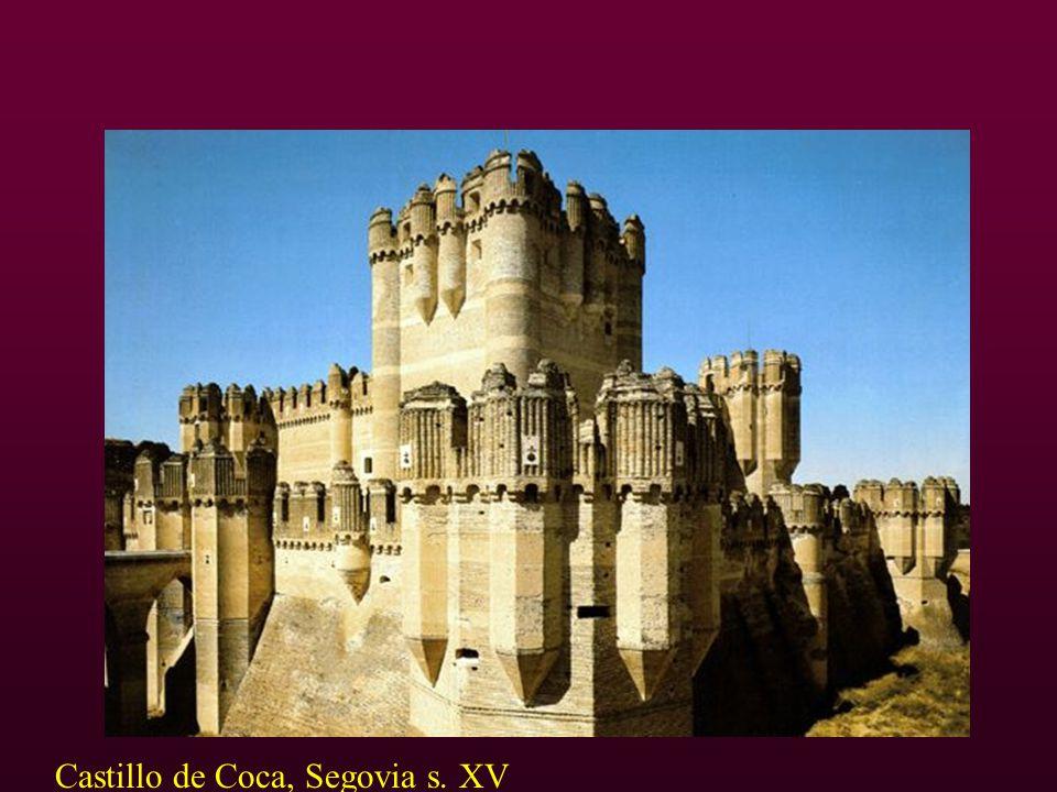 Castillo de Coca, Segovia s. XV