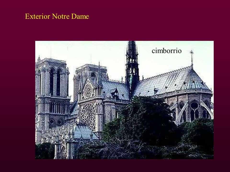 Exterior Notre Dame cimborrio