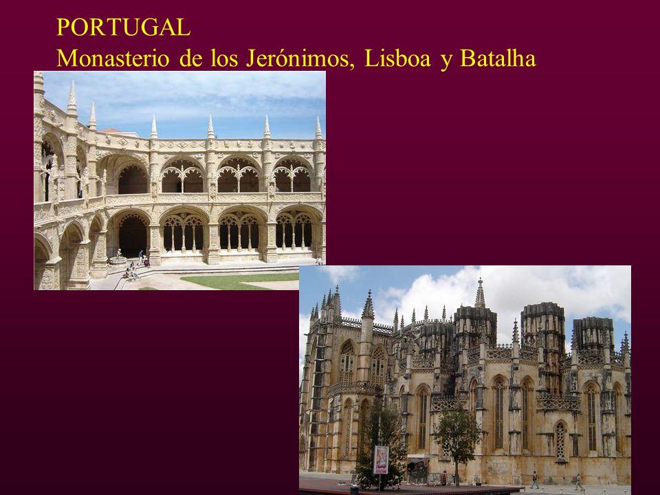 PORTUGAL Monasterio de los Jerónimos, Lisboa y Batalha